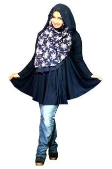 Kampung Souvenir - Atasan Basic Benazir - Dark Blue