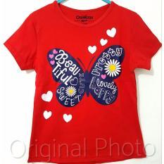 Kaos Anak Karakter - Butterfly