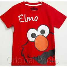 Kaos Anak Karakter - Elmo Red