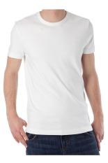KaosYES Kaos T-Shirt O-Neck Lengan Pendek - Putih