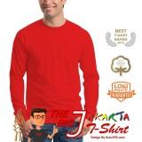 Kaos86 Kaos Polos T-Shirt O-Neck Lengan Panjang - Hitam. Source ·