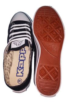 Kappa Low Cut Erli Sepatu Sekolah - Hitam