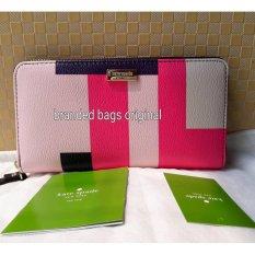 Kate Spade Neda Wallet Brightwater Drive Colorblock WLRU2261
