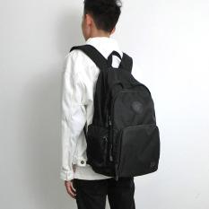 Kebugaran Korea Fashion Style tahan air nilon ransel perjalanan kapasitas tinggi tas siswa .