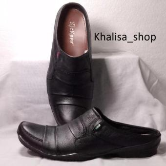 Harga Kickers Sepatu Pria Kulit Asli Model KR 730 Black - PriceNia.com b9f824a0f5