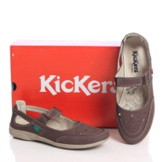 Kickers Women Brown With Strap