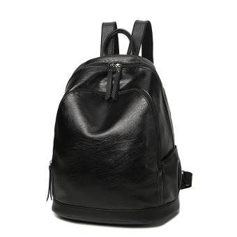 Korea Fashion Style perempuan Mummy ibu tas tas tas bahu baru Hitam Hitam .