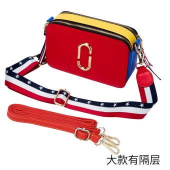 ... Bahu Tas Wanita Source · Korea Fashion Style Siswa Persegi Panjang Tas Tas Kecil Merah Model Besar 2 Tali Pundak
