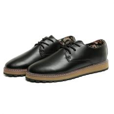 "Korean Wave Of Men""s Casual Shoes Hole Shoes Breathable Shoes Men Fashion Shoes (Black) ' - Intl"