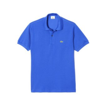 Lacoste Men s Classic Pique L.12.12 Original Fit Polo Shirt Blue - Intl f5fa48ebe7