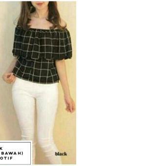 Dimana Beli 369 Blouse Ven Kotak Hitam Di Indonesia Harga Online Source · Ladies Fashion Blouse