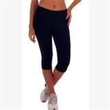 LALANG Wanita Latihan Legging Olahraga Fitness Stretch Cropped Pants (12 #)-Intl