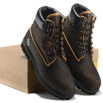 8461cce503 Leather Hiking Shoes For Timberland Boots 54054 Icon 6 Premium Men (Black)  - intl
