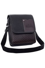 Leather Shoulder Bag (Black)