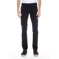 Lee Cooper Jeans Pria Slim Fit Black Lc 114