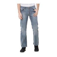 Lee Cooper Jeans Pria Straight Fit Mid Indigo Lc 118