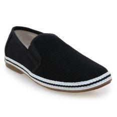 Lee Cooper Sepatu Pria Black Beach Pack