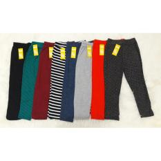Legging anak - 3 pcs - Spandek Katun - Motif Random