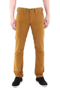 Levi's 511 Slim Fit Water Repellant Corduroy Pants - Bronze Brown R S W Cord
