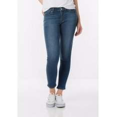 Levi's 711 Skinny Cropped Jeans - Honest Blue