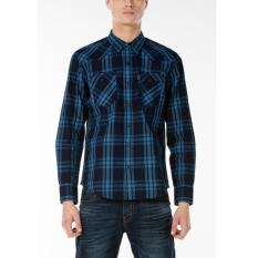 Levi's Barstow Western Shirt - Galingale Indigo