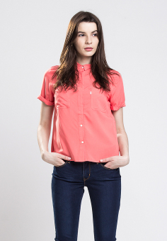 Levi's Beverly Shirt - Deep Sea Coral