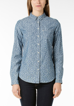 Levi's Tailored Classic One Pocket Shirt - Artemisia Chambray Discharge