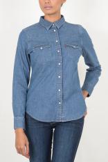 Levi's Tailored Classic Western Shirt - Medium Indigo