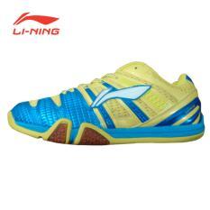 Li-Ning Badminton Shoes Saga Matrix - Kuning-Biru