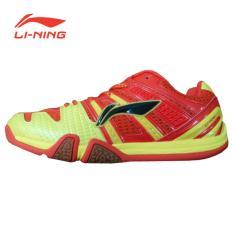 Li-Ning Badminton Shoes Saga Matrix – Red-Yellow