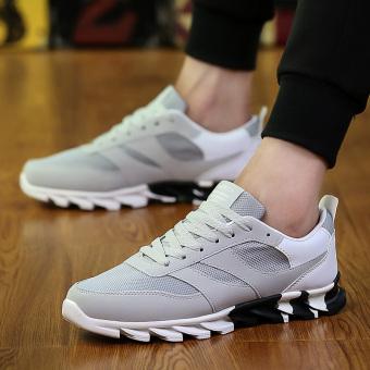 Liar Sepatu Olahraga Laki-laki Sepatu Lari Sepatu Pria Laki-laki Off (Abu
