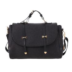 Linemart Casual Women Fleece Handbag Shoulder Top-Handle Bags (Grey)