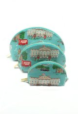 London Berry By HUER Lieqa 3 In 1 Multifunction Pouch - London Green