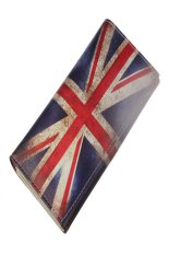 Long Purse British Flag Pattern Women Clutch Wallet Bag Card Holder