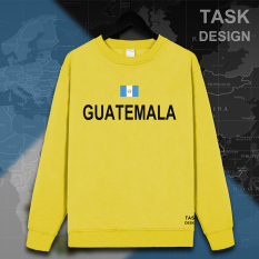 LOOESN ditambah beludru pria berkerudung pullover pecinta sweater (Leher bulat kuning hitam kata)