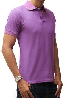 Louis Casual Design Men's Polo Shirt - Ungu Muda