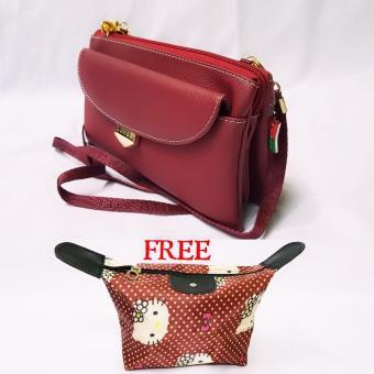 Lufas T850 tas selempang kecil wanita murah   tas selempang kecil branded   tas  selempang kain 92bd2f199f