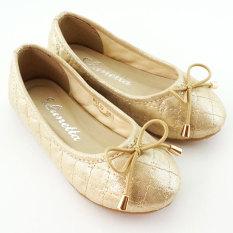 Lunetta Sepatu Anak Flat Shoes Shining Luxe - Gold
