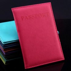 Makiyo PU leather, passport holder, wallet, card holder(Rose) - intl