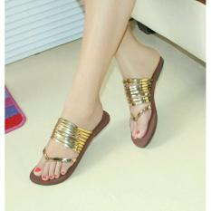 Marlee DN-19 Sandal Flat - Gold