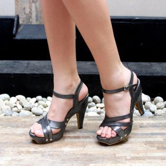 Marlee - Hanna Marlee Glitter Wedges - Grey