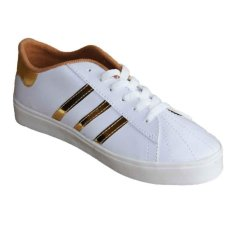 Marlee LU-05 Sneaker Shoes 3 Strap - Gold