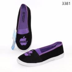 Marlee slip on anak impor 3381 ungu