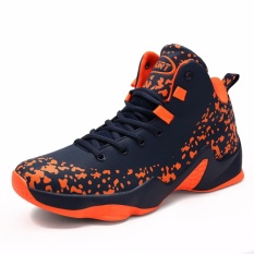 Men Basketball Shoes Walking Running Fashion Sneakers Sports Shoes - intl