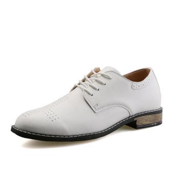 Men Fashion Formal Shoes (White)