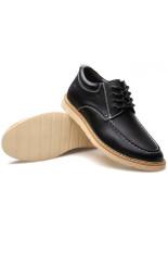 Men In Increased Leisure Shoes (Black)
