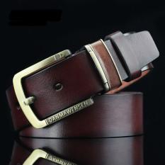 Men Retro Style Jeans Belt MBT88YY01-2 Coffee - Intl