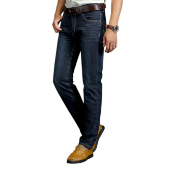 Men\'s Casual Classic Stylish Design Straight Slim Fit Jeans