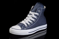 Men Shoes Fashion Sneakers Flats Lace Up Casual Canvas Shoes Size 35-46 (Blue) (Intl)