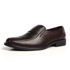 Men's Business Formal Dress Artificial Leather Shoes Slip-On Loafers